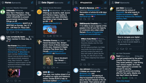 Tweetdeck on a MB Pro browser